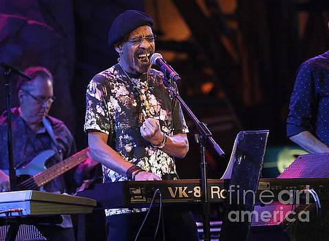 War Singer Lonnie Jordan by Concert Photos