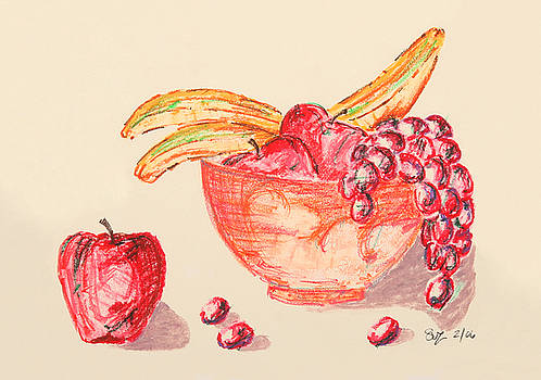 Warm Fruit by Suzanne Blender