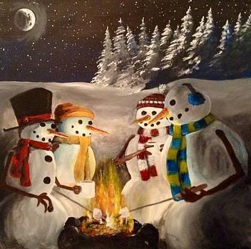 Warming Up by Tim Loughner