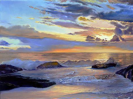 Warmth of the ocean by Sergey Lutsenko