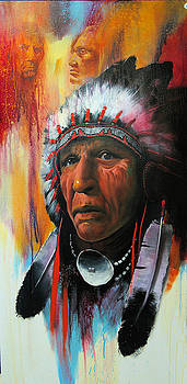Warrior Chief by Robert Carver