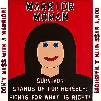 Warrior Woman by MaryAnn Kikerpill