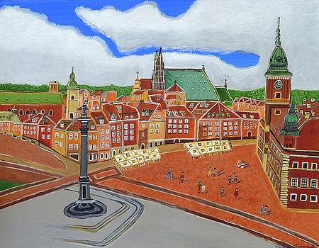 Warsaw- Old Town by Magdalena Frohnsdorff