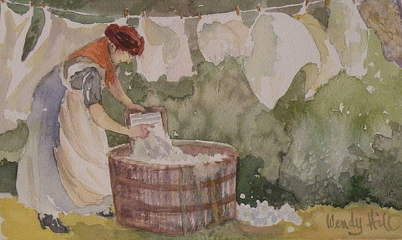 Wash Day by Wendy Hill