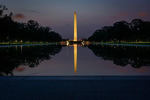 Washington at Dawn by Dan Girard