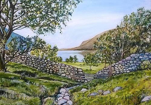 Wastwater from Wasdale by Robina Osbourne