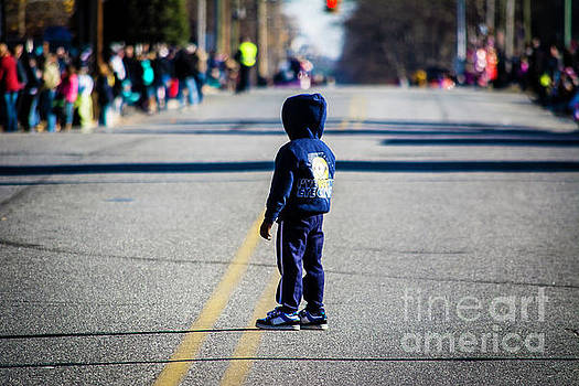 Watching for the Parade by JW Hanley