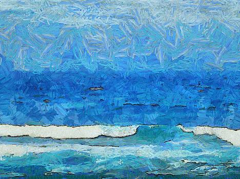 Water and sky by Ashish Agarwal