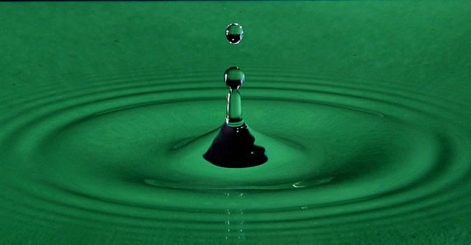 Water Drop by Jim Walls PhotoArtist