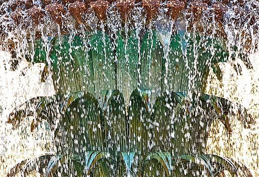 Water Fountain Bright Charleston by Lori Kesten