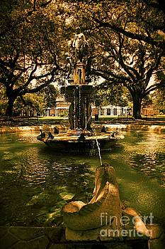 Water Fountain by Janice Spivey