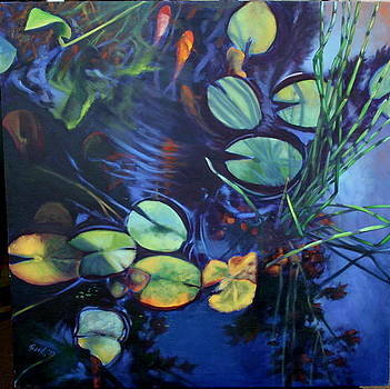 Water Garden Series-N by Patricia Reed