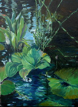 Water Garden Series-P by Patricia Reed