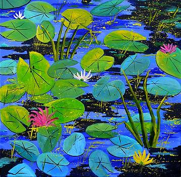 Water lilies 88 by Pol Ledent