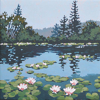 Water Lilly Morning by Dorothy Jenson
