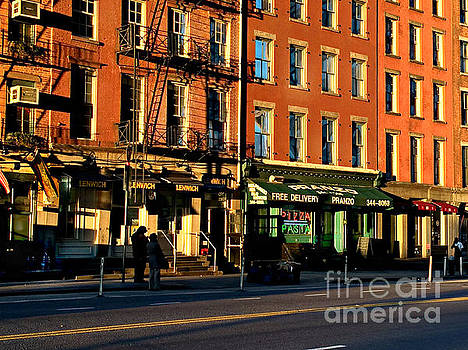Water Street at Dusk by Miriam Danar