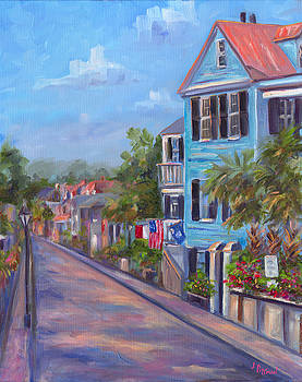 Water Street in Charleston by Jeff Pittman