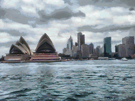 Water view of Sydney by Ashish Agarwal