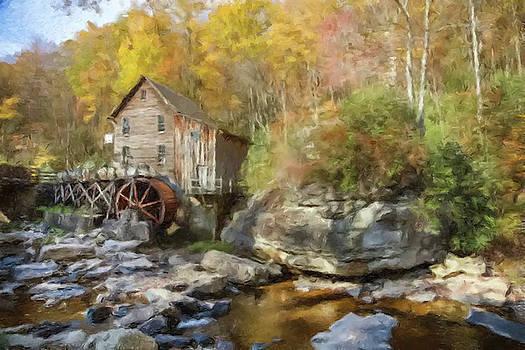 Water Wheel by Gary Grayson