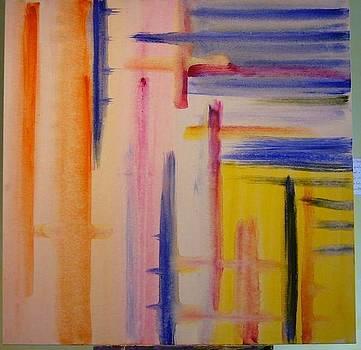 Waterabstract by Marilena  Pilla