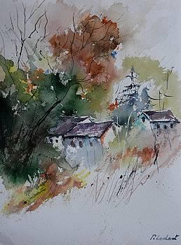 Watercolor 711041 by Pol Ledent