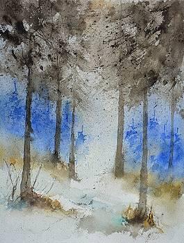 Watercolor 711092 by Pol Ledent