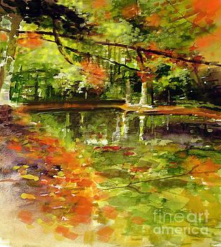 Glendford Pond by Allison Ashton