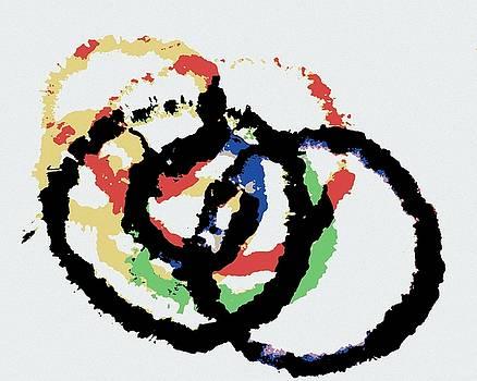 Watercolor Rings by Sheri Parris