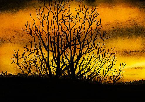 Svetlana Sewell - Watercolour Sunset