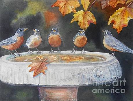 Watercooler chat by Patricia Pushaw