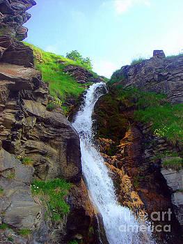 Waterfall 2 by Jasna Dragun