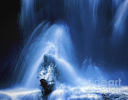 Waterfall Abstract by Mitch Shindelbower