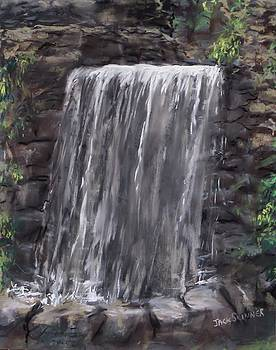 Waterfall At Longfellow's Gristmill by Jack Skinner