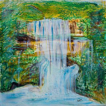 Waterfall by Emma Kinani