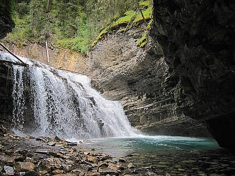 Mary Lee Dereske - Waterfall in Banff National Park