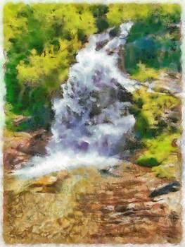 Waterfall in the wild by Ashish Agarwal
