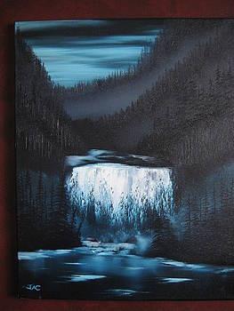 Waterfall Retreat by Jim Carreau