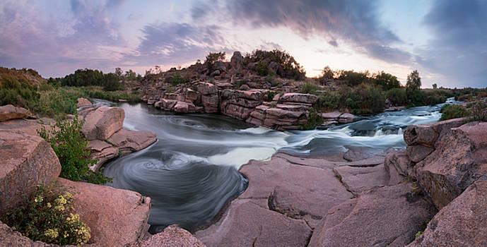 Waterfall Tokivskyi by Sergey Ryzhkov