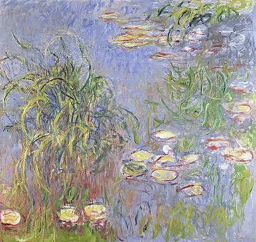 Claude Monet - Waterlilies, Cluster of Grass