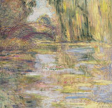 Claude Monet - Waterlily Pond, The Bridge
