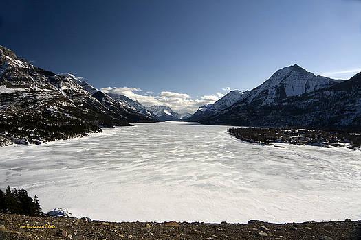Waterton in Winter by Tom Buchanan