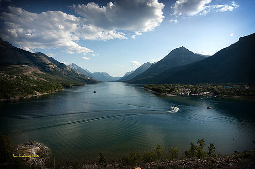 Waterton Lake by Tom Buchanan