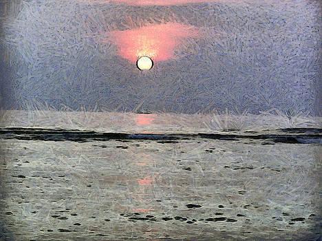 Watery sunset by Ashish Agarwal