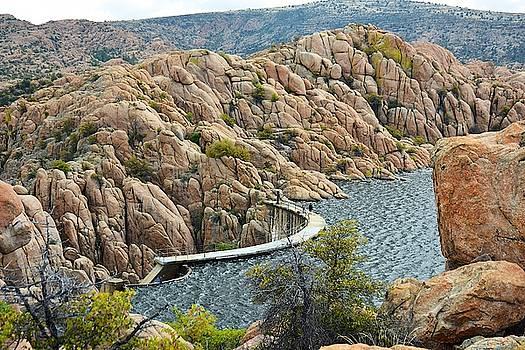 Watson Lake Dam by Richard Gehlbach