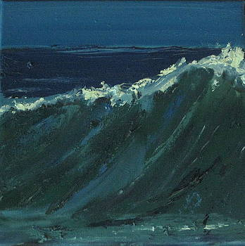 Wave Study by Judy  Blundell