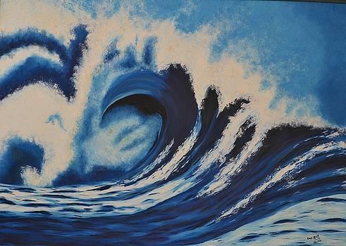 Wave by Usha Rai
