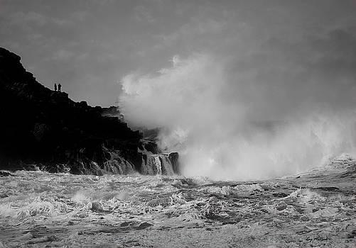 Wave watching by Roy McPeak