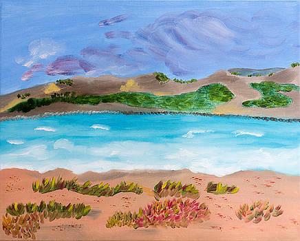 Wavering Seas Of Ventura by Meryl Goudey