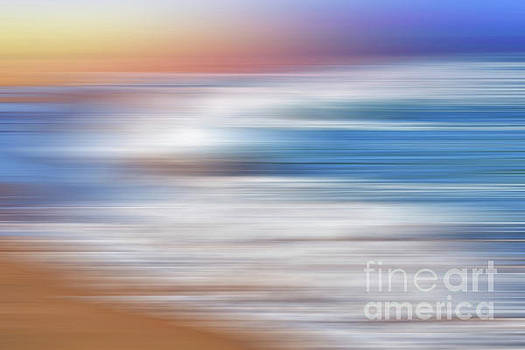 Waves Abstraction by Kaye Menner by Kaye Menner