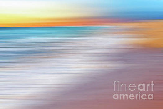 Waves Abstraction II by Kaye Menner by Kaye Menner